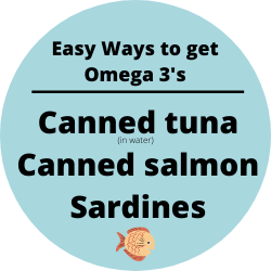 blue circle easy ways to get omega 3's