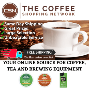 Coffee Shopping Network Generic Promo
