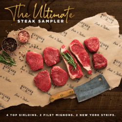 ButcherBox Ultimate Steak Sampler Promo
