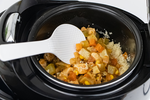 cooking in an instant pot