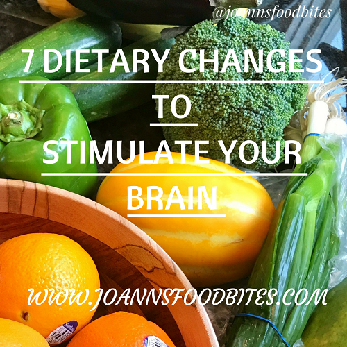 7 DIETARY CHANGES TO STIMULATE YOUR BRAIN