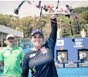Sara López consiguió su tercera Copa del Mundo de tiro con arco individual