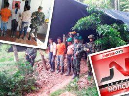 Capturadas tres personas que ejercían explotación ilícita de yacimientos mineros