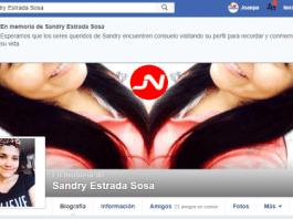 Facebok - En memoria de Sandry Estrada Sosa