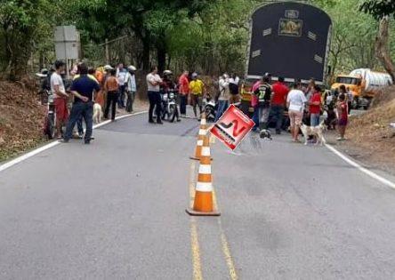 DEYSI MARIA LOPEZ JIMENEZ la mujer que falleció en accidente de transito en la vía Aguas Clara - Ocaña  sector de Platanal