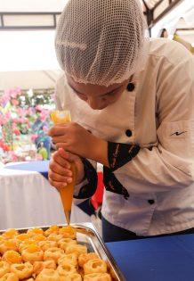 Exquisitos platos fueron presentados por los centros de formación SENA.