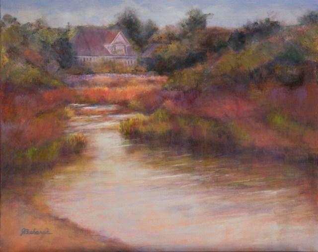 Original oil painting of Weeks Bay by artist Joan Pechanec Weeks Bay 16x20 unframed 21x25 framed $450