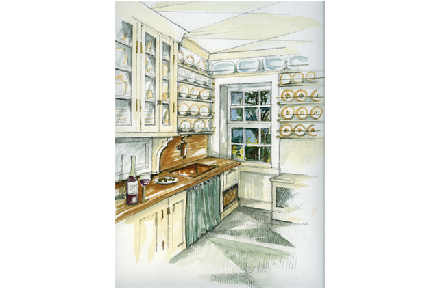 Kitchen Design Drawings and Interior Design Photos by Joan Picone     Joan Picone   Designer   Kitchen Design  Bath Design  Interior Space  Planning