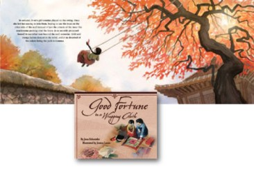 Good Fortune in a Wrapping Cloth - 2012-13 APALA award winner in the picture book category