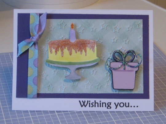 Another Cute Birthday Cricut Card Idea Made With The Celebrations
