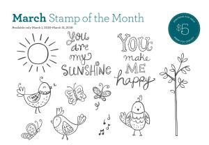 march stamp of the month 2
