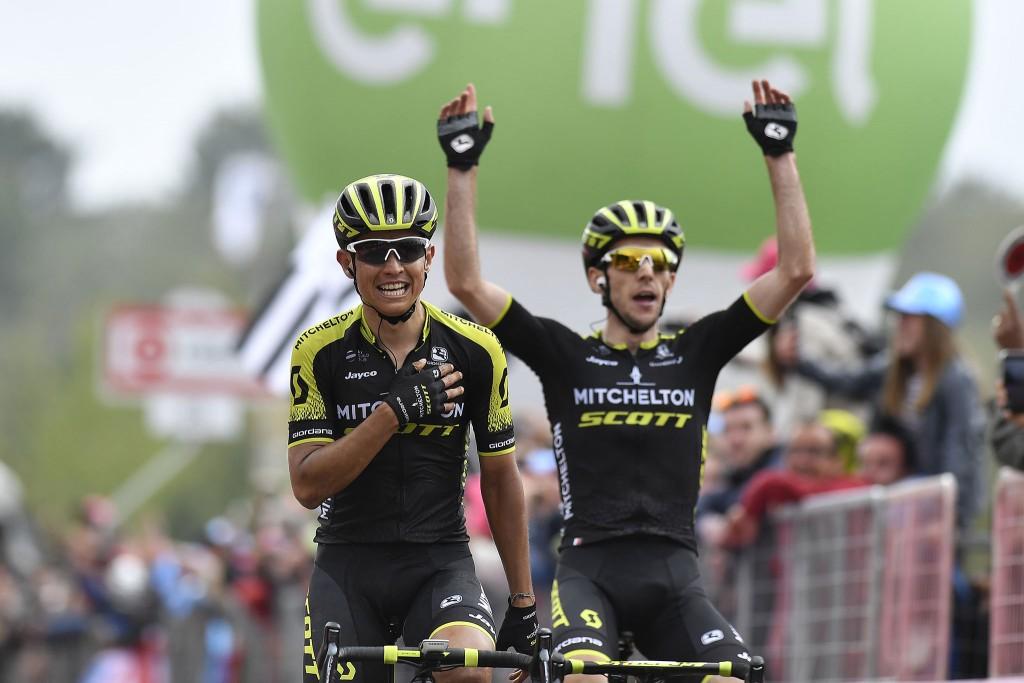 Etapa Giro Etna Chaves gana