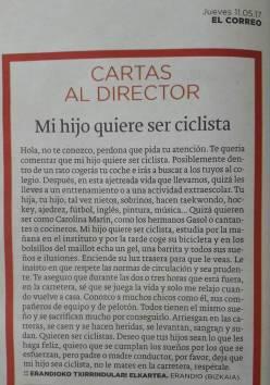 Niño ciclista JoanSeguidor