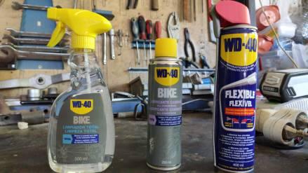 WD40 mantenimiento de la bicicleta