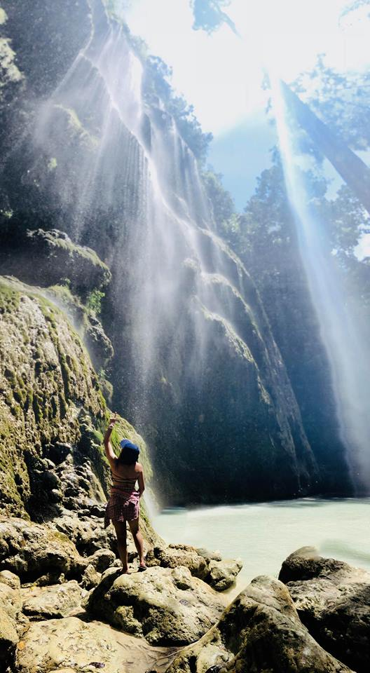 Oslob DIY tumalog falls