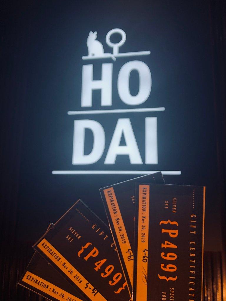 Hodai Restaurant Giveaway