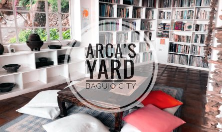 arca's yard baguio city