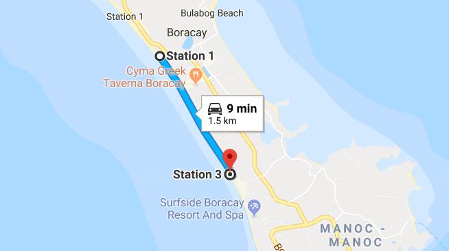 station 1-3 boracay island