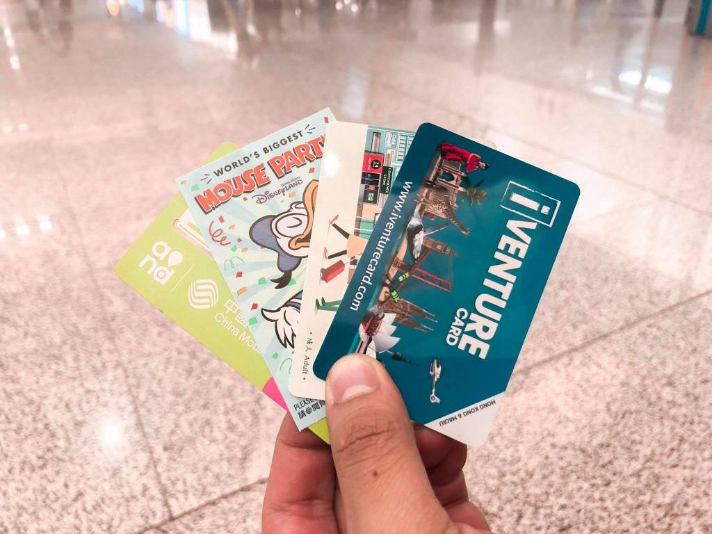 Hong Kong iVenture card