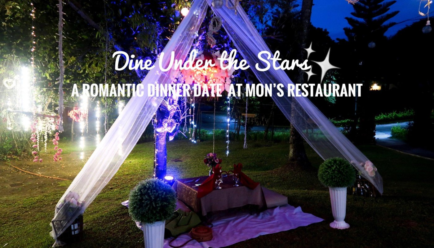 Dine under the stars at Mon's Restaurant