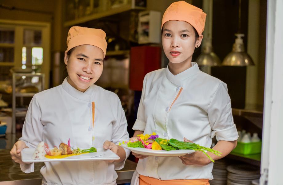 Embassy Restaurant in Siem Reap