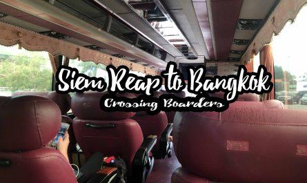 Siem Reap to Bangkok