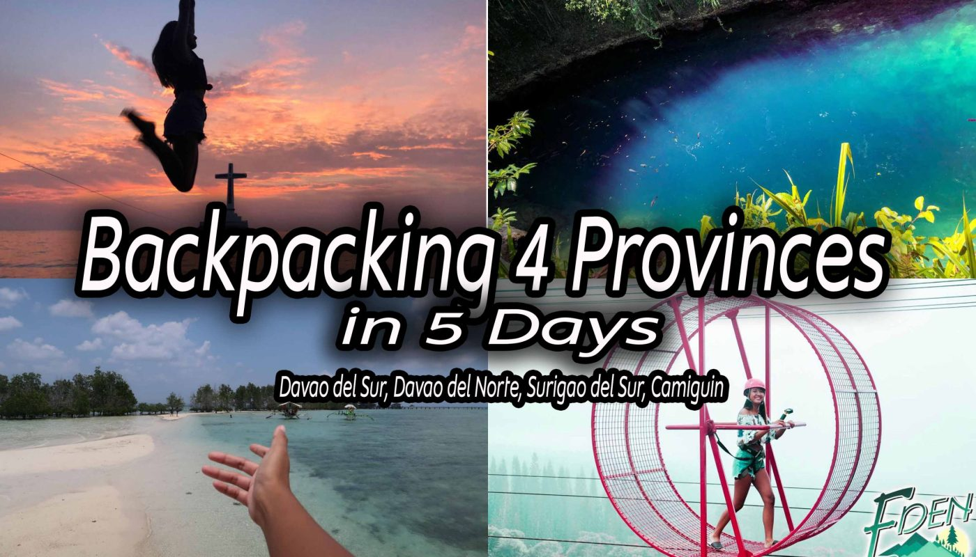 Backpacking 4 Provinces in Mindanao for 5 Days