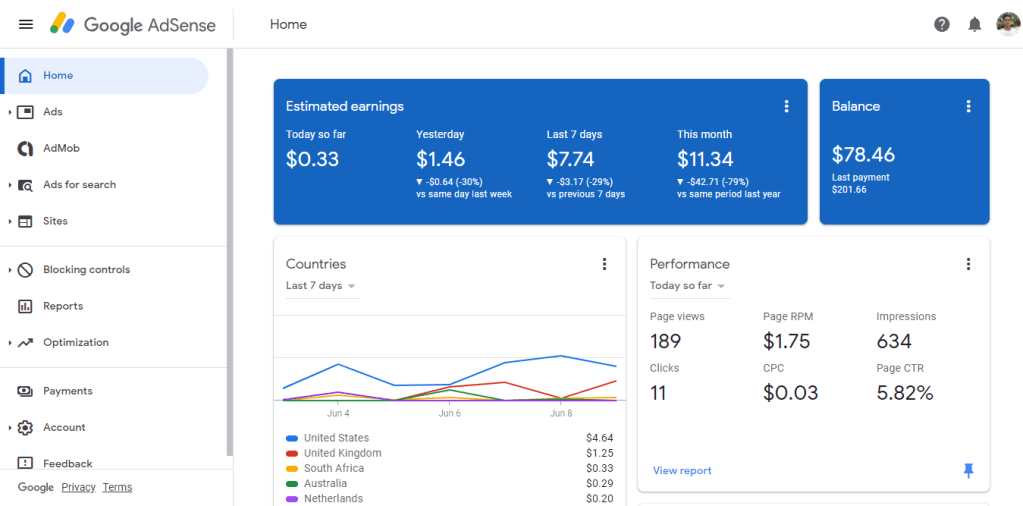how to earn from google adsense