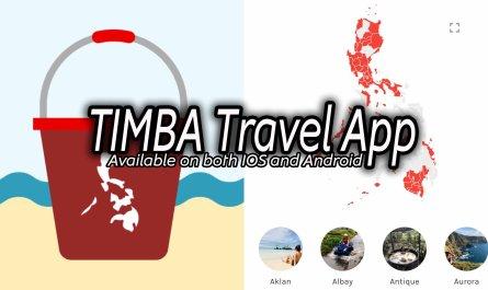 TIMBA Philippine Bucket List