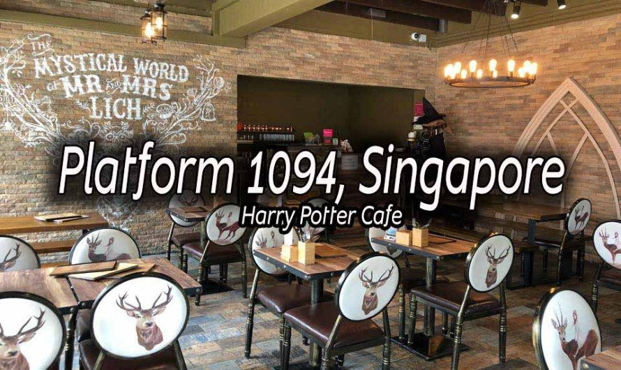 Platform 1094 – Every Potterhead's Best Spot in Singapore!