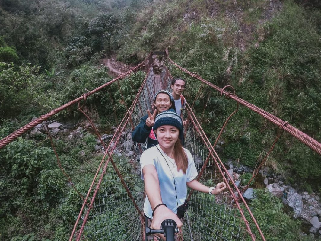 Mt Ulap hanging bridge