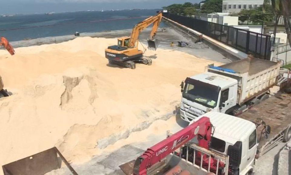 New White-Sand Manila Bay