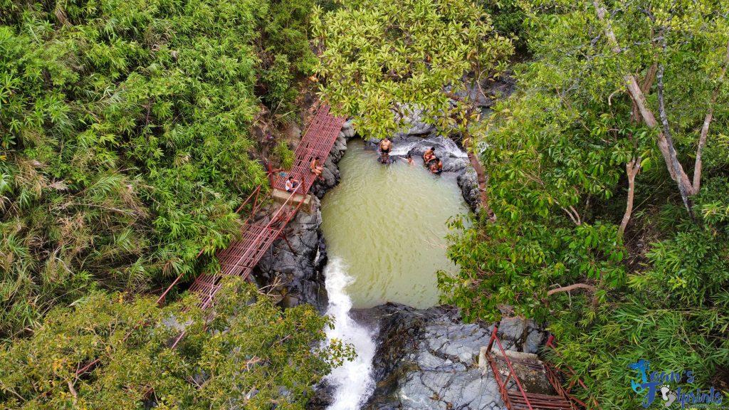 Mapita Falls in Aguilar Pangasinan