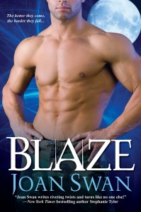 Blaze by Joan Swan