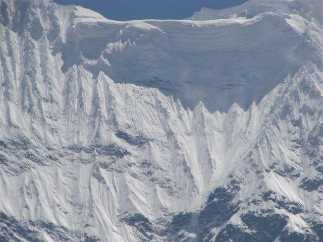 Huamantay Glacier Cornice