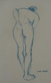 Figure Bent Forward