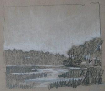 2014-0507 Value Sketch, Marsh