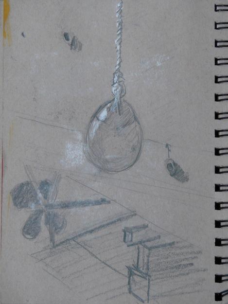 2014-0508 Thumbnail Sketch, Mooring Buoy