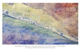 Sunsets of 30A Map