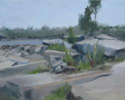 2014-0511 Port St. Joe Rock-Lined Harbor