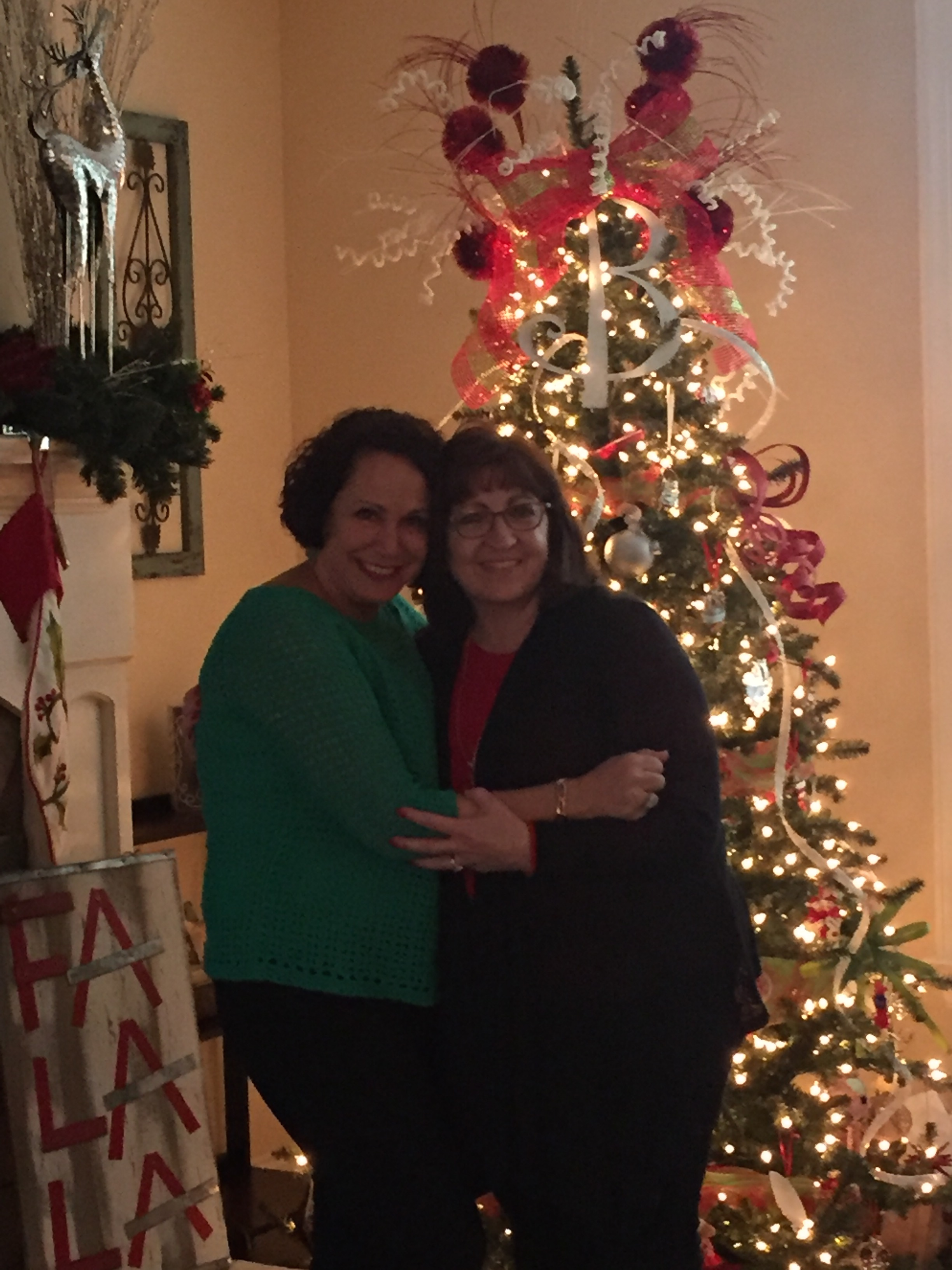 one of my favorite things to do in december is to head to my friend donna kappers home for her annual christmas open house