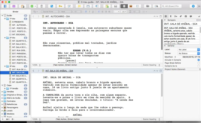 Scrivener 6-7
