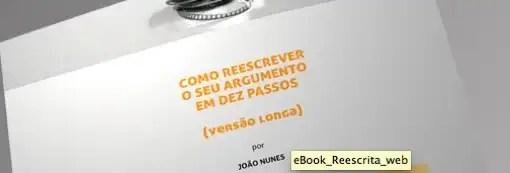 """Receba grátis o ebook """"A reescrita em 10 passos"""""""