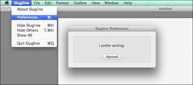 i prefer writing