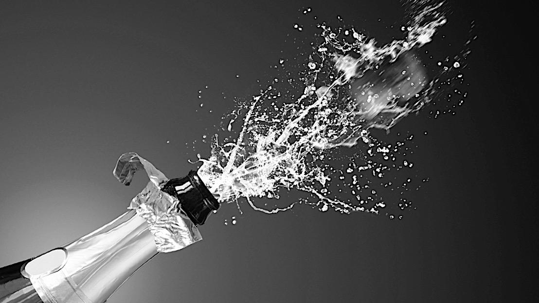 Garrafa de champanhe - Mil e quinhentos