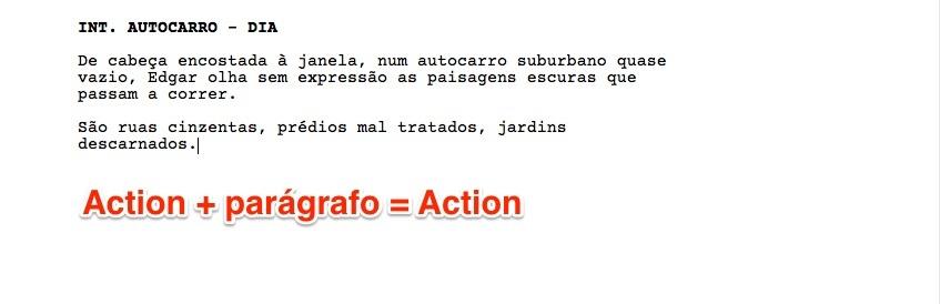 De Action para Action