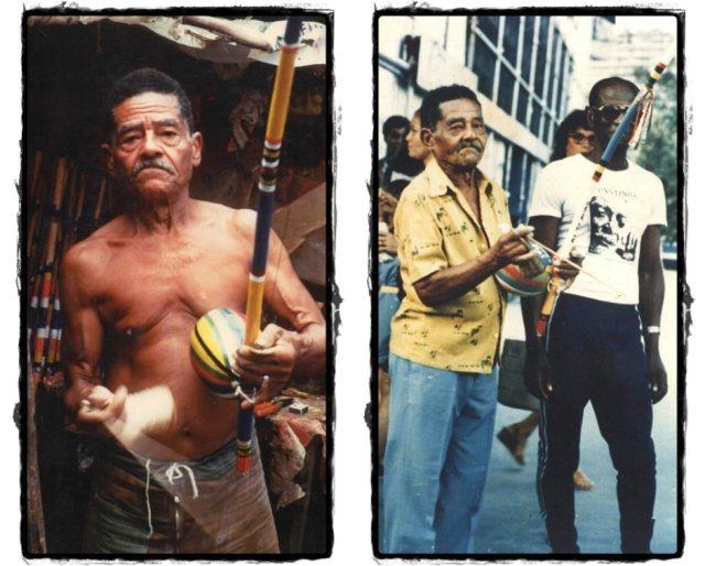 Capoeira no terreiro de Mestre Waldemar