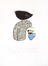 Then the hen sat on the cat and the cat ate a chrysanthemum, © Jo Aylward & Podpress