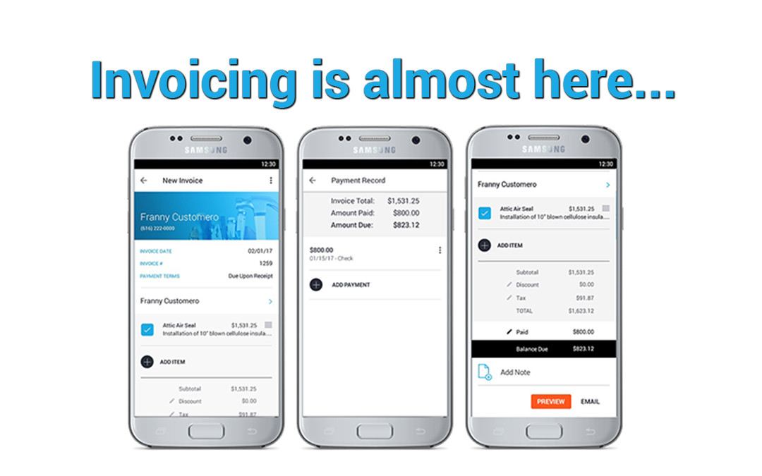 Coming Soon: Quick and Simple Invoicing