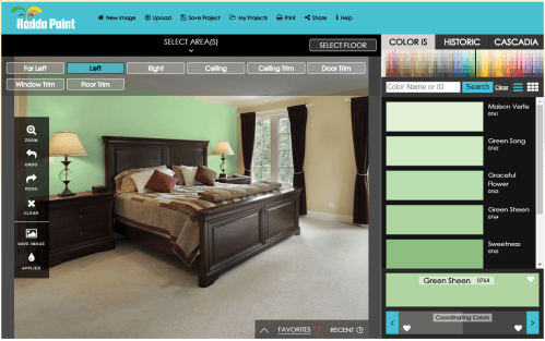 color visualizer painting software